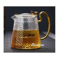 錘紋耐熱玻璃茶壺(1000ml)