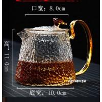 錘紋耐熱玻璃茶壺(500ml)