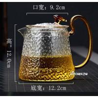 錘紋耐熱玻璃茶壺(800ml)