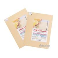 [Asahi朝日]家用米白色砧板-加寬版